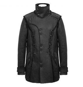 Manteau 'Dark Waste' Noir