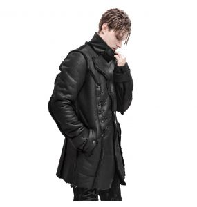 Black 'Dark Waste' Coat