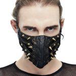 Masque 'Copper Pinned' Noir
