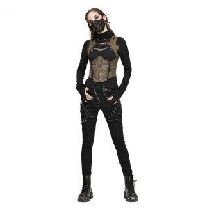 Masque 'Copper Crow' Noir