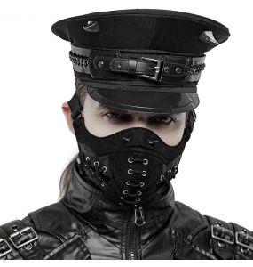 Casquette Gothique 'Murderdoll' Noire