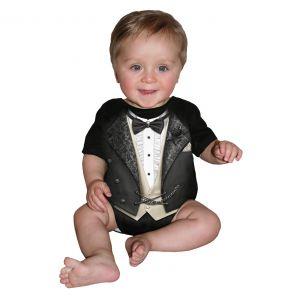 Body pour Bébé 'Tuxed' Noir
