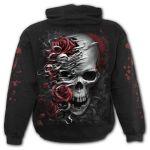 Black 'Skulls N' Roses' Kids Hoody