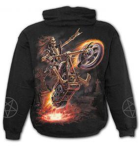 Sweat à Capuche pour Enfants 'Hell Rider' Noir