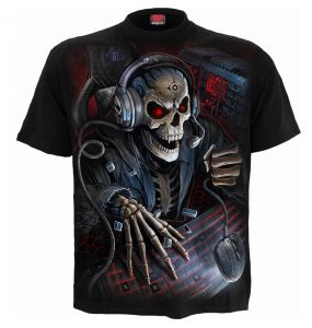Black 'PC Gamer' Kids Short Sleeves T-Shirt