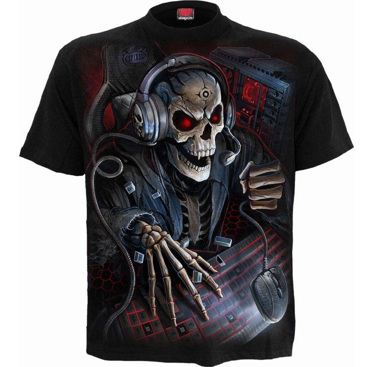Black 'PC Gamer' Kids Short Sleeves T-Shirt
