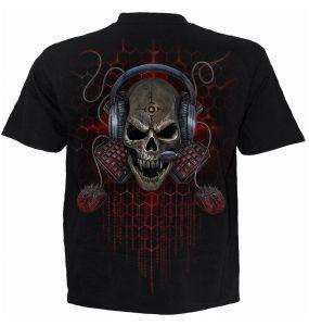T-Shirt Manches Courtes pour Enfants 'PC Gamer' Noir