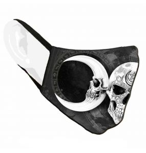 Black 'Dark Goddess Sublima' Face Mask