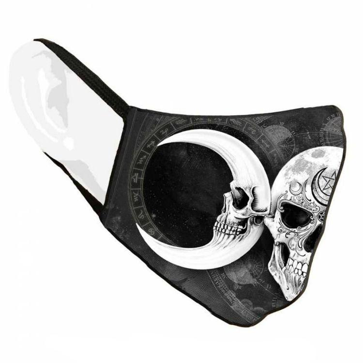 Black 'Dark Goddess Sublima' Face Mask