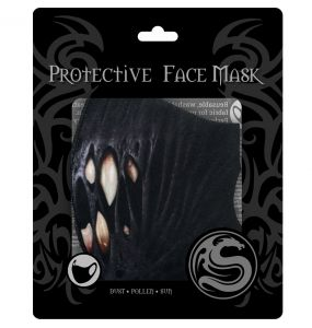 Black 'First Bite' Face Mask