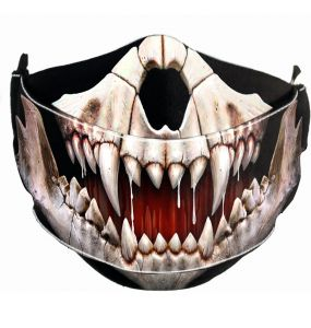 Black 'Rock Jaw' Face Mask