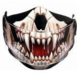 Masque 'Rock Jaw' Noir
