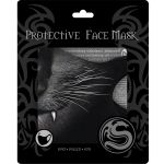 Black 'Cat Fangs' Face Mask