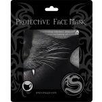 Masque 'Cat Fangs' Noir