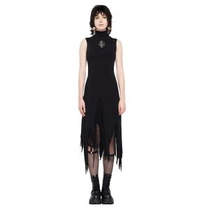 Black 'Dead Can Dance' Dress