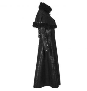 Black 'Doriana' Coat
