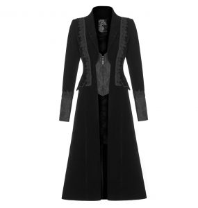 Manteau en Velours 'The Vampire Diaries' Noir
