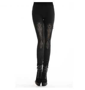 Black 'Amoret' Leggings