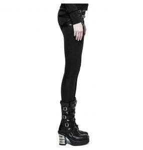 Black 'Straparella' Warm Leggings