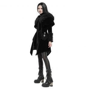 Black 'Witchnight' Gothic Lolita Coat