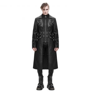 Black 'Melmoth' Coat