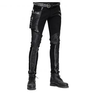 Pantalon pour Hommes 'Dark Punk' Noir
