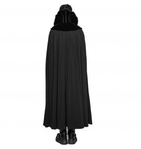 Black 'Dracula' Long Cape