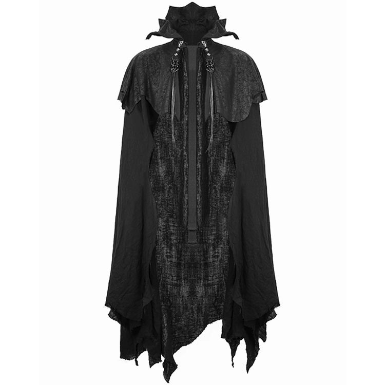 Black Gothic 'Vlad' Cloak Cape