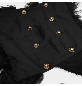 Manteau 'Viserion' Noir