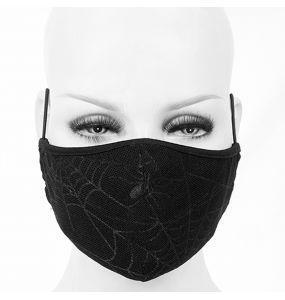 Masque 'Spider Web' Noir
