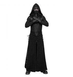 Black 'Asmodey' Long Kilt