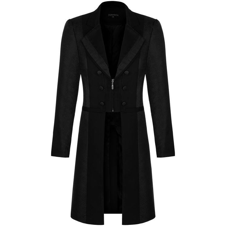Black 'Montresor' Long Jacket