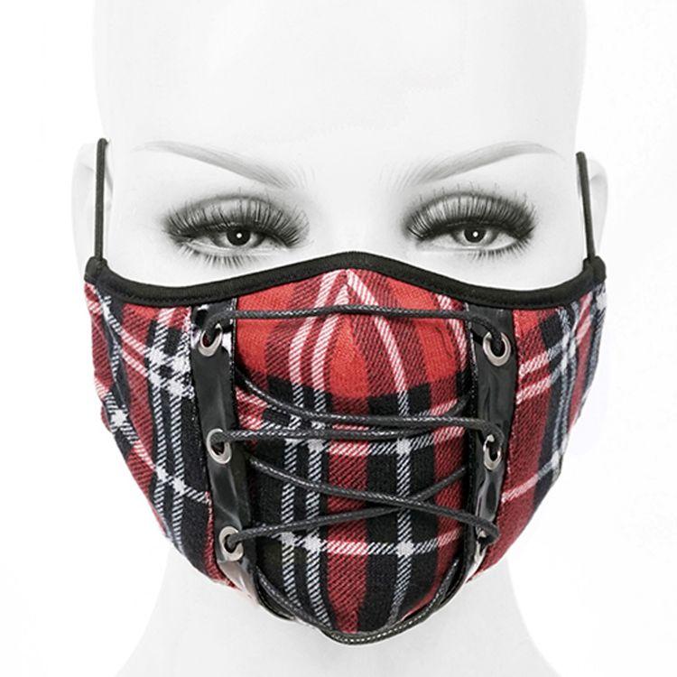 Masque Tartan Rouge