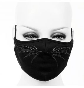 Black Butterfly Face Mask