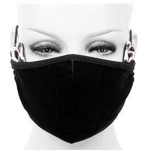 Masque 'Velvet Leo' Noir