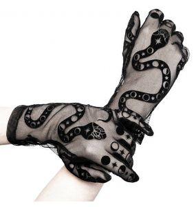 Black 'Snake' Gloves
