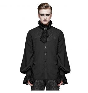 Black 'McArthy' Shirt