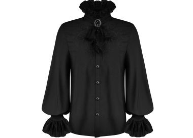 Chemise 'McArthy' Noire