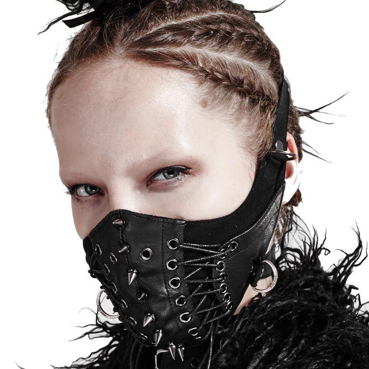 Masque 'Dragon' Noir
