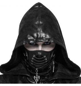 Masque 'Reptilian' Noir