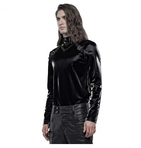 Black Long Sleeves 'Witcher' Sweater