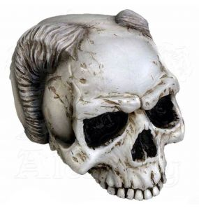 Resine 'Angel of Hades' Skull