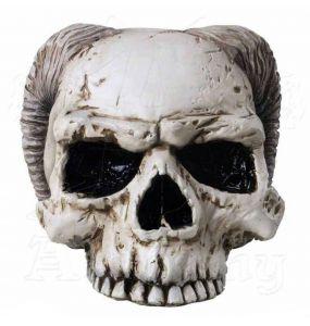 Resine 'Angel of Hades' Skull