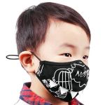 Black 'Shark Teeth' Face Mask for Kids