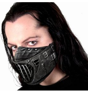 Black 'Evil' Face Mask