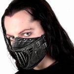Black 'Evil' Face Mask
