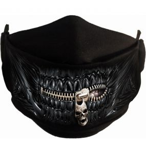 Masque 'Zipped Mouth' Noir