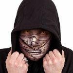 Beige 'Mummified' Face Mask