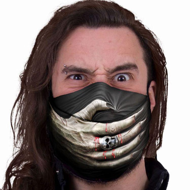 Black 'Speechless' Face Mask