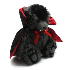 Grey 'Ted The Impaler' Teddy Bear